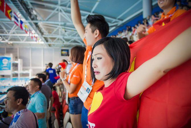 Phương Thanh khóc khi VĐV Ánh Viên giành 2 huy chương vàng - Ảnh 7