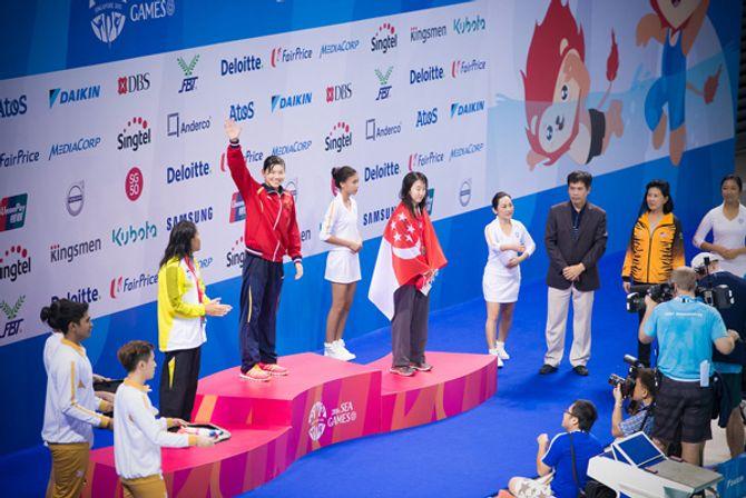 Phương Thanh khóc khi VĐV Ánh Viên giành 2 huy chương vàng - Ảnh 11