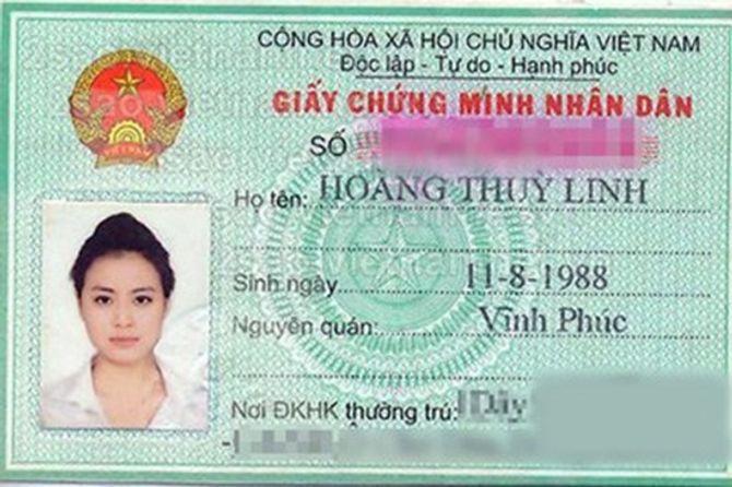 Tiết lộ loạt chứng minh thư và giấy tờ tùy thân của sao Việt - Ảnh 7
