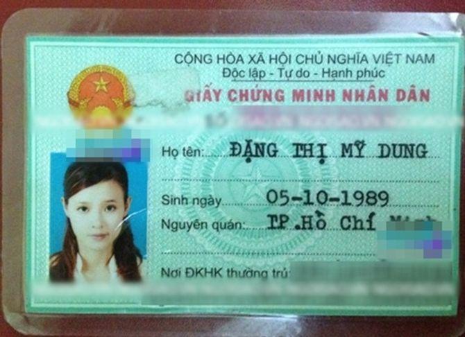 Tiết lộ loạt chứng minh thư và giấy tờ tùy thân của sao Việt - Ảnh 14