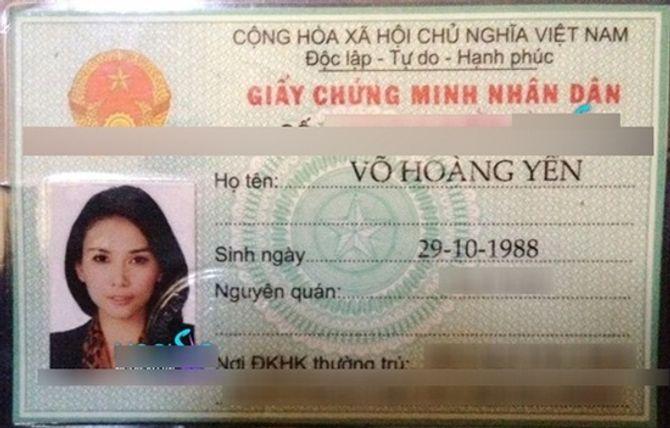 Tiết lộ loạt chứng minh thư và giấy tờ tùy thân của sao Việt - Ảnh 26