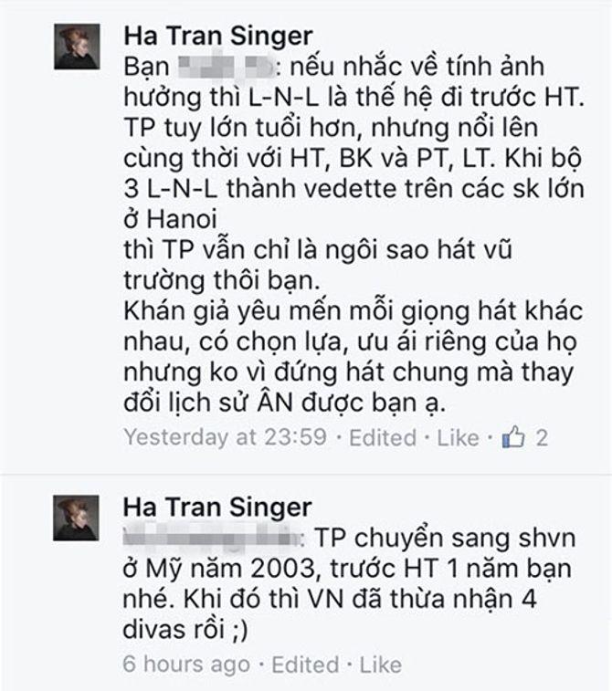 """Thực hư Hà Trần """"đá đểu"""" Thu Phương là ca sĩ hát vũ trường - Ảnh 2"""