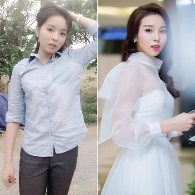 Chấm điểm mặt mộc của các nàng Hoa hậu & Á hậu Việt nổi tiếng - Ảnh 1