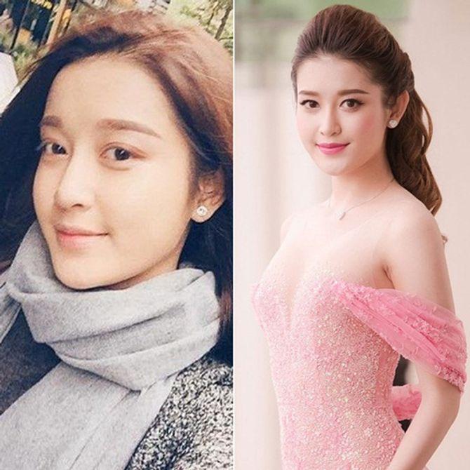Chấm điểm mặt mộc của các nàng Hoa hậu & Á hậu Việt nổi tiếng - Ảnh 11