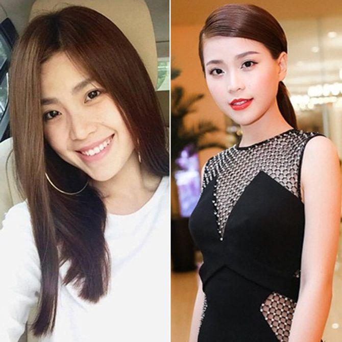 Chấm điểm mặt mộc của các nàng Hoa hậu & Á hậu Việt nổi tiếng - Ảnh 12