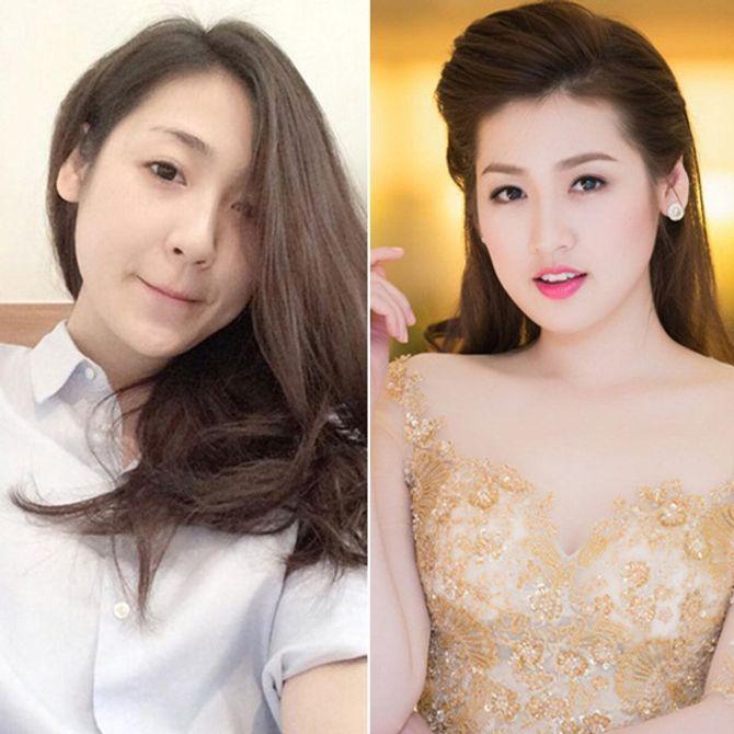 Chấm điểm mặt mộc của các nàng Hoa hậu & Á hậu Việt nổi tiếng - Ảnh 13