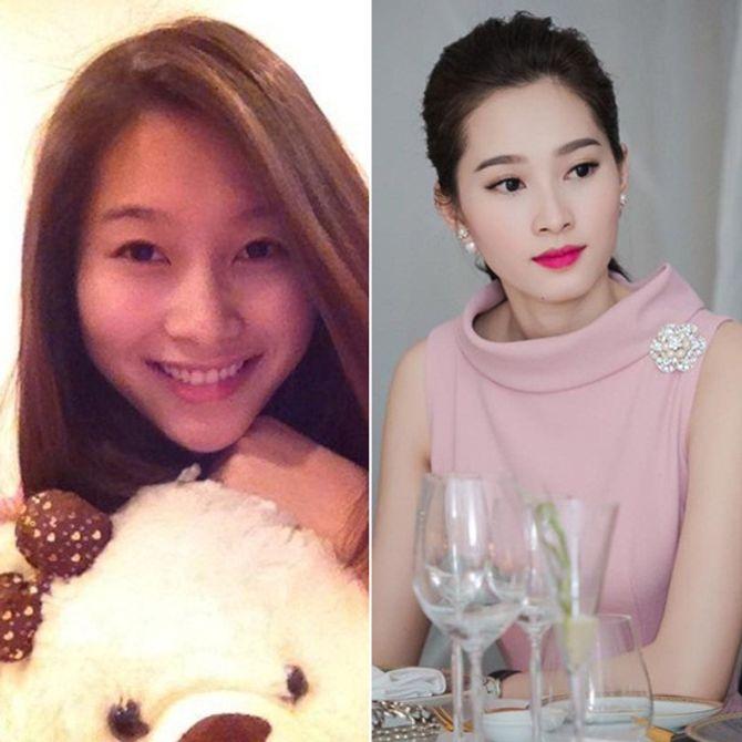 Chấm điểm mặt mộc của các nàng Hoa hậu & Á hậu Việt nổi tiếng - Ảnh 2
