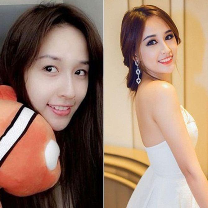 Chấm điểm mặt mộc của các nàng Hoa hậu & Á hậu Việt nổi tiếng - Ảnh 3