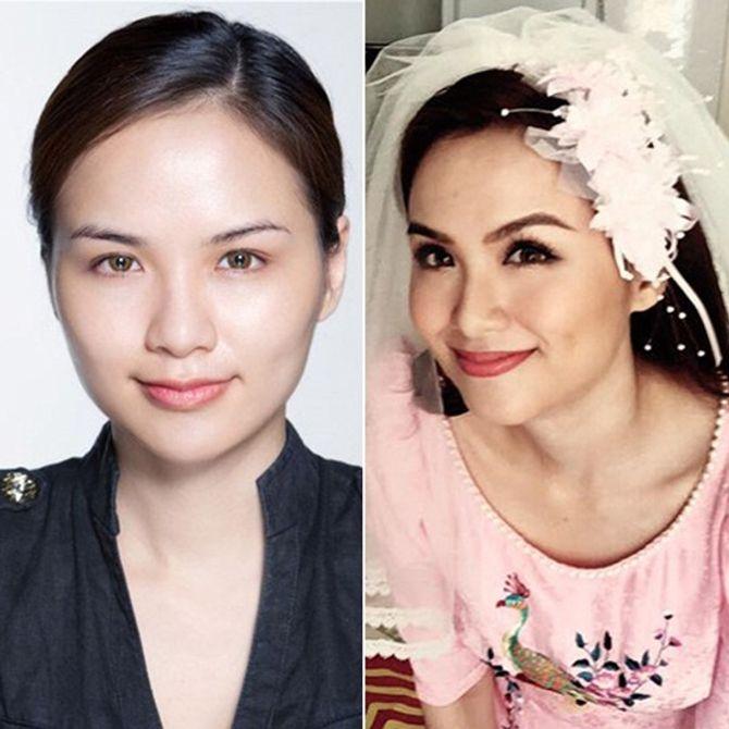 Chấm điểm mặt mộc của các nàng Hoa hậu & Á hậu Việt nổi tiếng - Ảnh 7