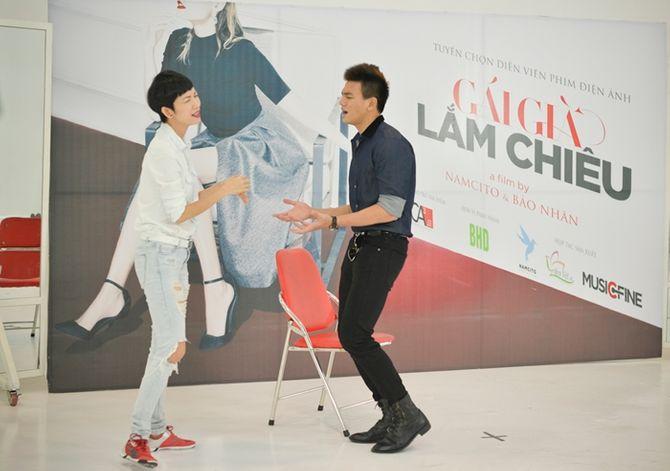 Diễm My 9x, Bình Minh tự tin casting phim