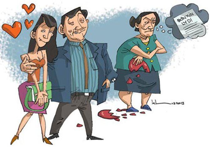 Bỏ mặc vợ chống chọi ung thư, chồng vui vẻ bên bồ nhí - Ảnh 1