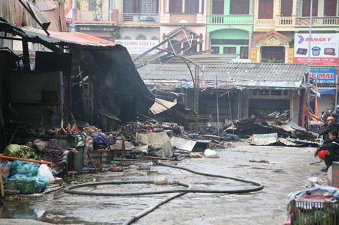 Nguyên nhân cháy chợ Phủ Lý khiến 281 hộ kinh doanh bị thiệt hại nặng nề - Ảnh 2