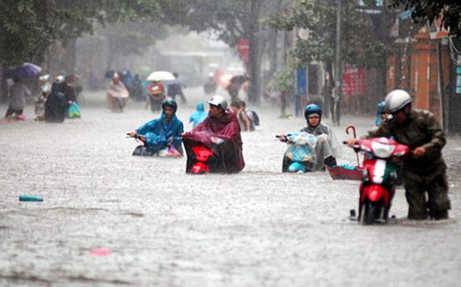 Mưa lớn trên diện rộng, những tỉnh nào nguy cơ ngập lụt? - Ảnh 1