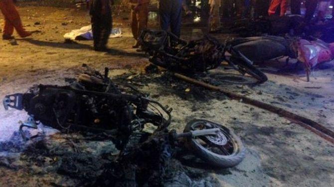 Hình ảnh thương tâm vụ nổ lớn ở Thái Lan - Ảnh 2
