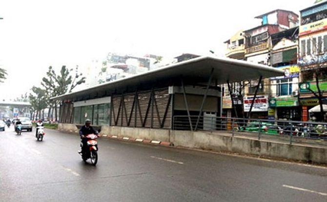 Cuối năm, Hà Nội sẽ vận hành chính thức tuyến buýt nhanh BRT - Ảnh 1