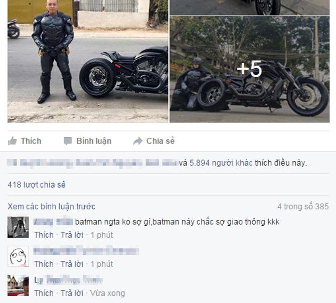 Chàng trai Việt Nam đầu tư cả bộ Batman, xuống phố chơi Tết - Ảnh 6