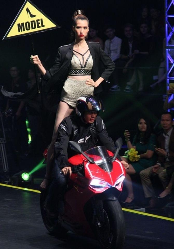 Chung kết Vietnam's Next Top Model 2015: Hương Ly là quán quân - Ảnh 4