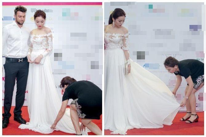 Hình ảnh trái ngược gây tranh cãi của Hoa hậu Thái Lan và Hoa hậu Kỳ Duyên - Ảnh 5