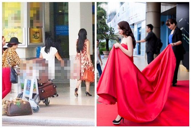 Hình ảnh trái ngược gây tranh cãi của Hoa hậu Thái Lan và Hoa hậu Kỳ Duyên - Ảnh 4