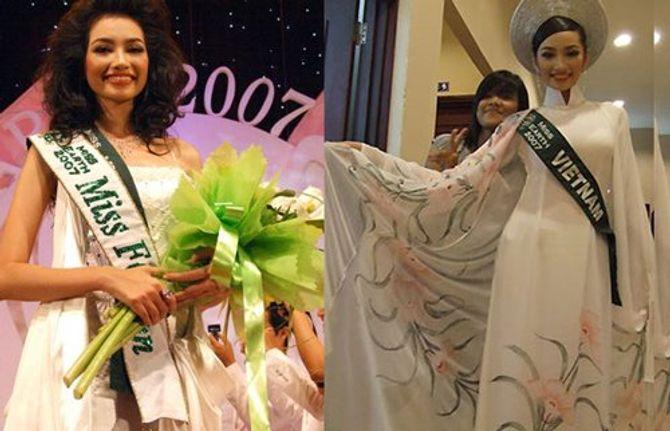 1001 sự cố của người đẹp Việt ở đấu trường quốc tế - Ảnh 3