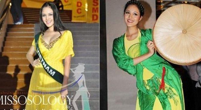 1001 sự cố của người đẹp Việt ở đấu trường quốc tế - Ảnh 4
