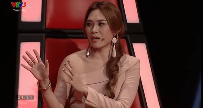 Liveshow 4 Giọng hát Việt: Mỹ Tâm thắc mắc về chiếc váy của thí sinh - Ảnh 3
