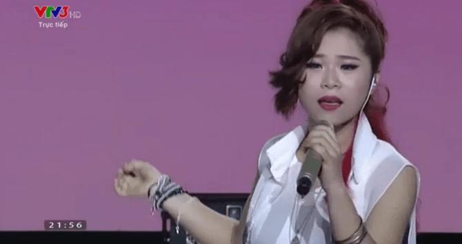 Liveshow 4 Giọng hát Việt: Mỹ Tâm thắc mắc về chiếc váy của thí sinh - Ảnh 9