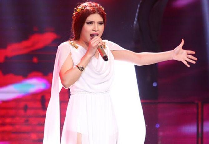 Liveshow 4 Giọng hát Việt: Mỹ Tâm thắc mắc về chiếc váy của thí sinh - Ảnh 1