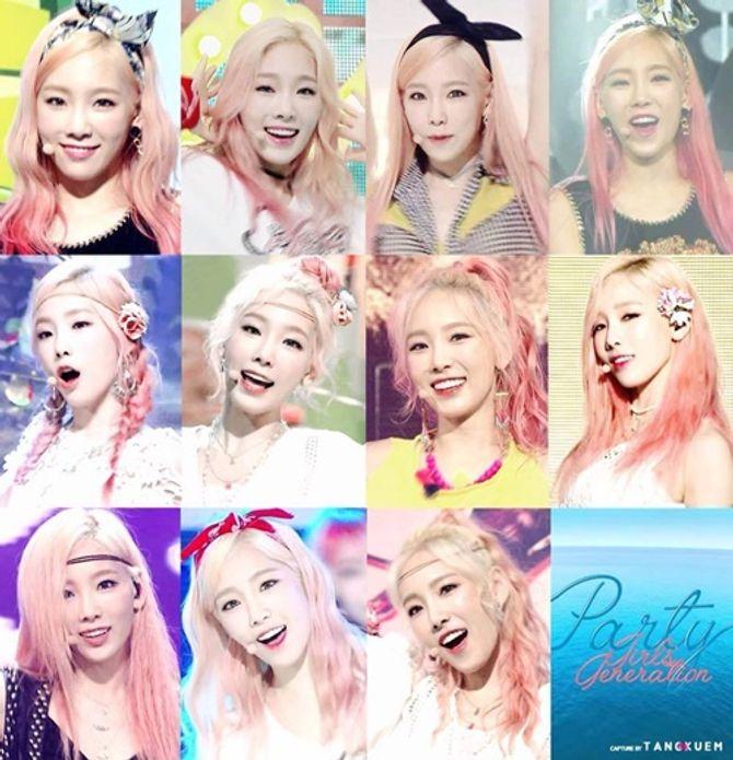 Những thần tượng Kpop để tóc màu gì cũng đẹp - Ảnh 1