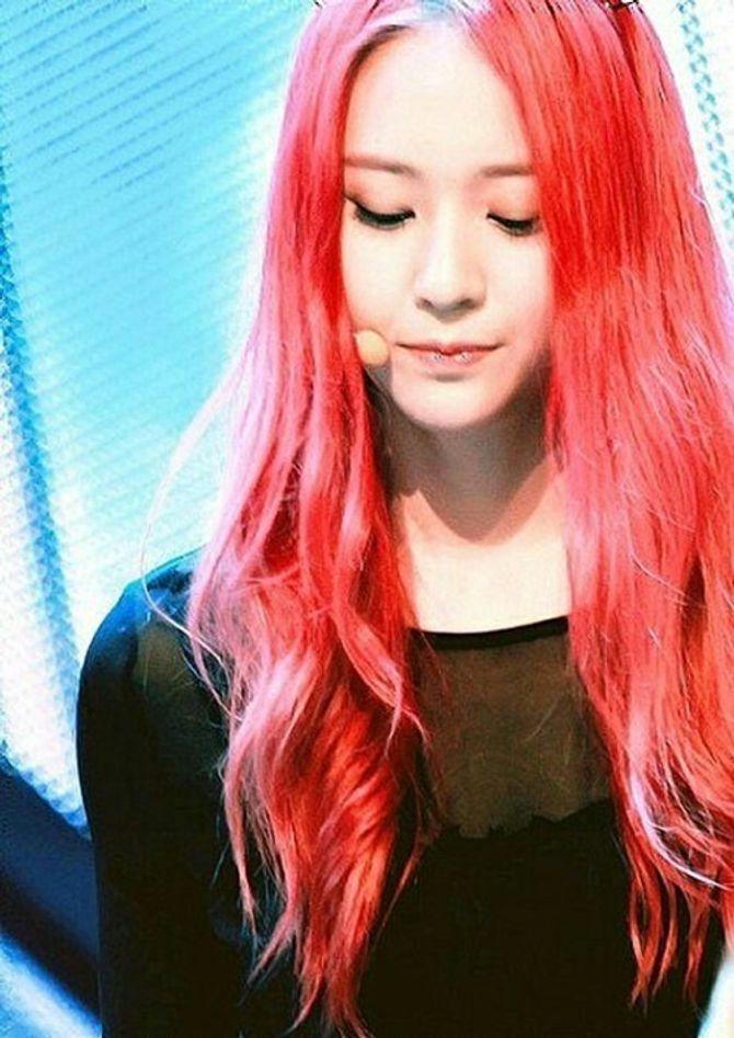 Những thần tượng Kpop để tóc màu gì cũng đẹp - Ảnh 11