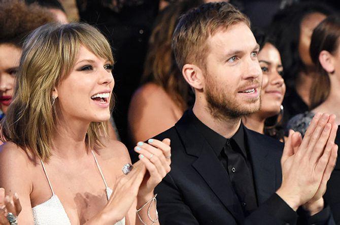 Taylor Swift và Calvin Harris nhận 10 triệu USD để chụp quảng cáo nội y - Ảnh 1