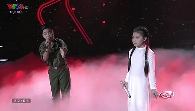 Giọng hát Việt nhí 2015 liveshow 3: Thí sinh nhí nhập vai Elsa và Anna cực ngọt - Ảnh 10