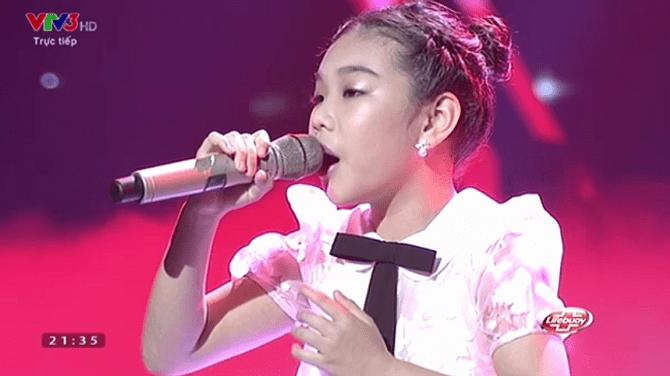 Giọng hát Việt nhí 2015 liveshow 3: Thí sinh nhí nhập vai Elsa và Anna cực ngọt - Ảnh 5