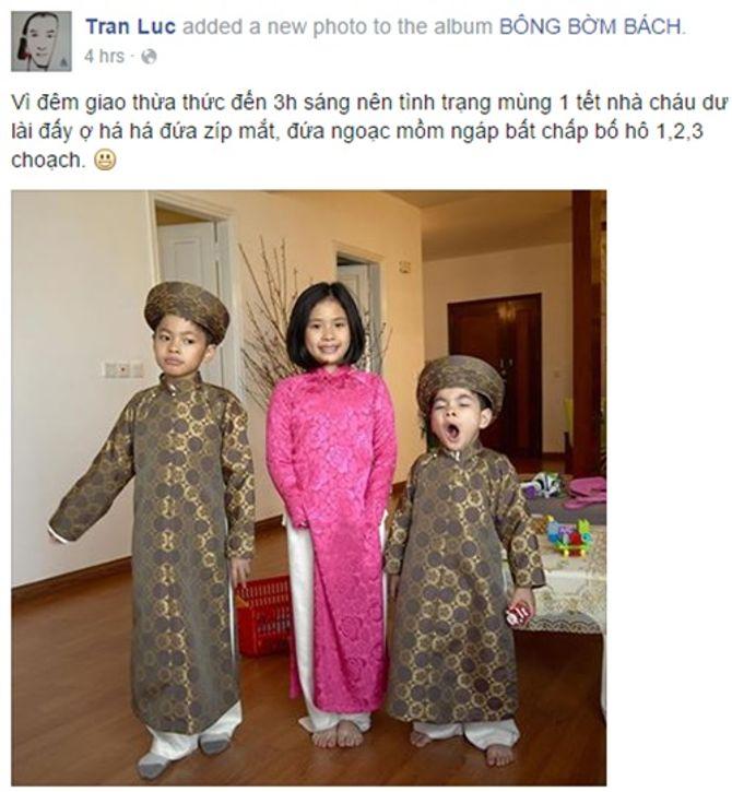 Sao Việt tưng bừng háo hức ngày mùng 1 Tết - Ảnh 3