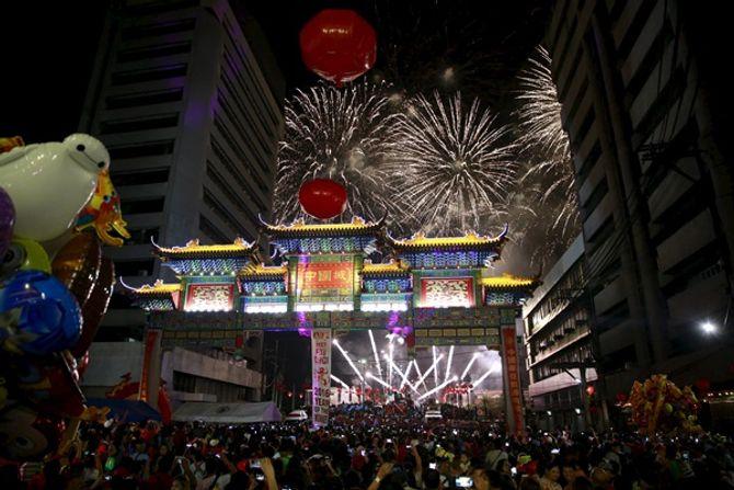 Thế giới rộn ràng chào đón năm con khỉ - Ảnh 7