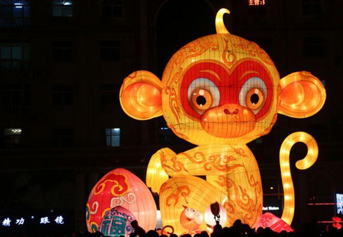 Thế giới rộn ràng chào đón năm con khỉ - Ảnh 3