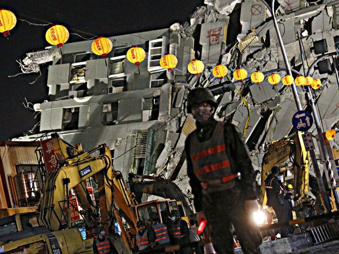 Trận động đất tại Đài Loan: Bé 3 tháng tuổi người Việt kẹt trong tòa nhà - Ảnh 2