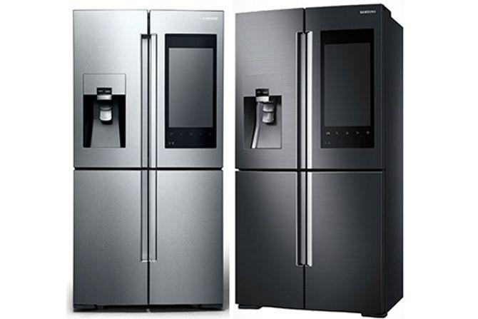 Tủ lạnh thông minh được trang bị camera và màn hình cảm ứng