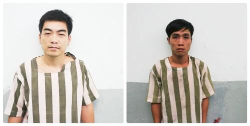 Cô gái trẻ đuổi bắt hai tên cướp mới ra tù trên phố - Ảnh 1