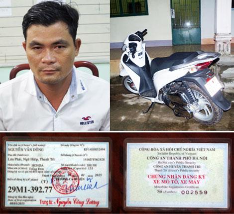 """""""Đạo chích"""" trộm xe ở Hà Nội, trốn vào Bình Phước vẫn không thoát - Ảnh 1"""