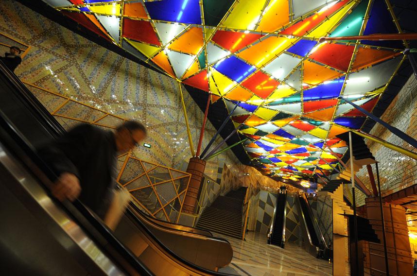 15 ga tàu điện ngầm đẹp nhất thế giới - Ảnh 12