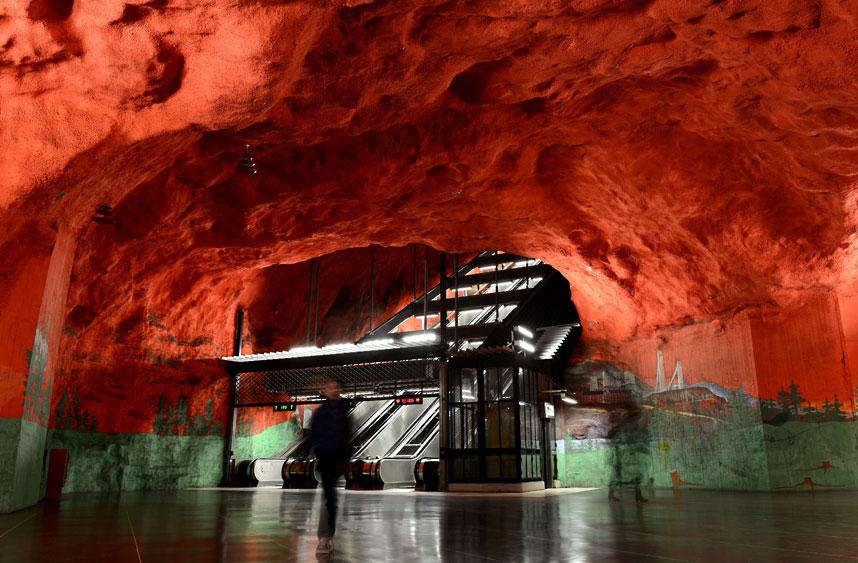 15 ga tàu điện ngầm đẹp nhất thế giới - Ảnh 6