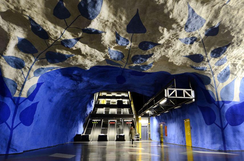 15 ga tàu điện ngầm đẹp nhất thế giới - Ảnh 7