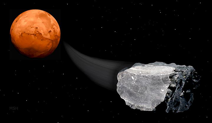 Phát hiện dấu tích quan trọng về sự sống trên sao Hỏa - Ảnh 1