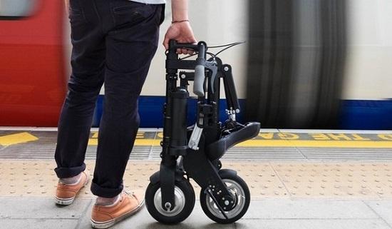 """A-bike: Xe đạp điện """"bỏ túi"""" nhỏ nhẹ nhất thế giới - Ảnh 2"""