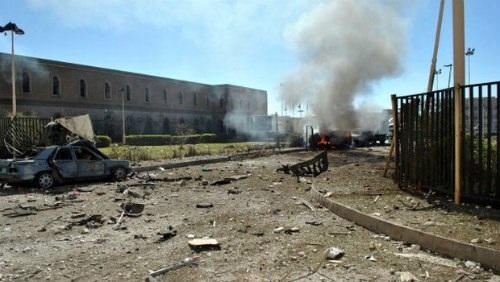 Ít nhất 29 người thiệt mạng trong vụ đánh bom nhà thờ Hồi giáo Yemen - Ảnh 1