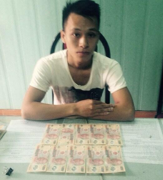Mang tiền giả từ Hà Nội xuống Hải Phòng tiêu thụ - Ảnh 1