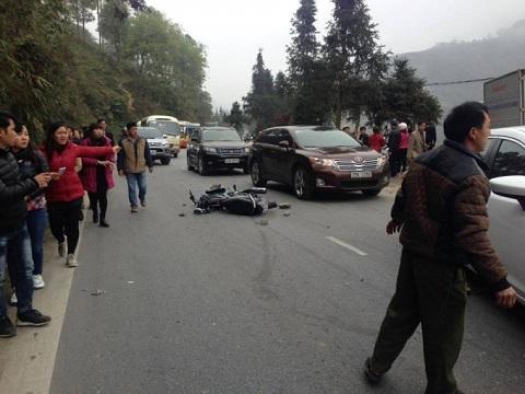 Vụ xe khách đâm xe tải ở Sapa: Nạn nhân tử vong là cán bộ xã - Ảnh 1