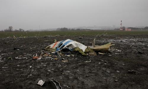 Thời tiết có thể là nguyên nhân của vụ rơi máy bay FlyDubai - Ảnh 1