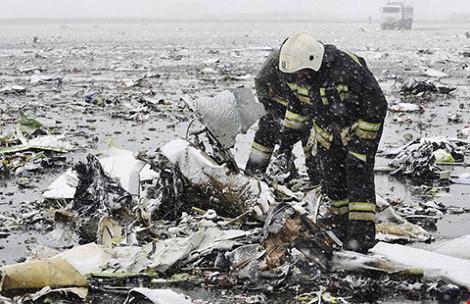 Thời tiết có thể là nguyên nhân của vụ rơi máy bay FlyDubai - Ảnh 2